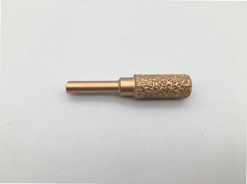 Vacuum Brazed Diamond Grinding and Polishing Head for Engraving Granite