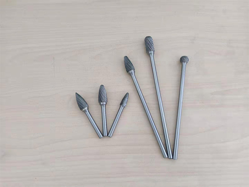 150mm Long shank tungsten carbide burrs