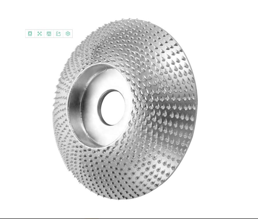 Hot buy 110 mm outside diameter 22 mm inside diameter Half round shape Golden grinding disc