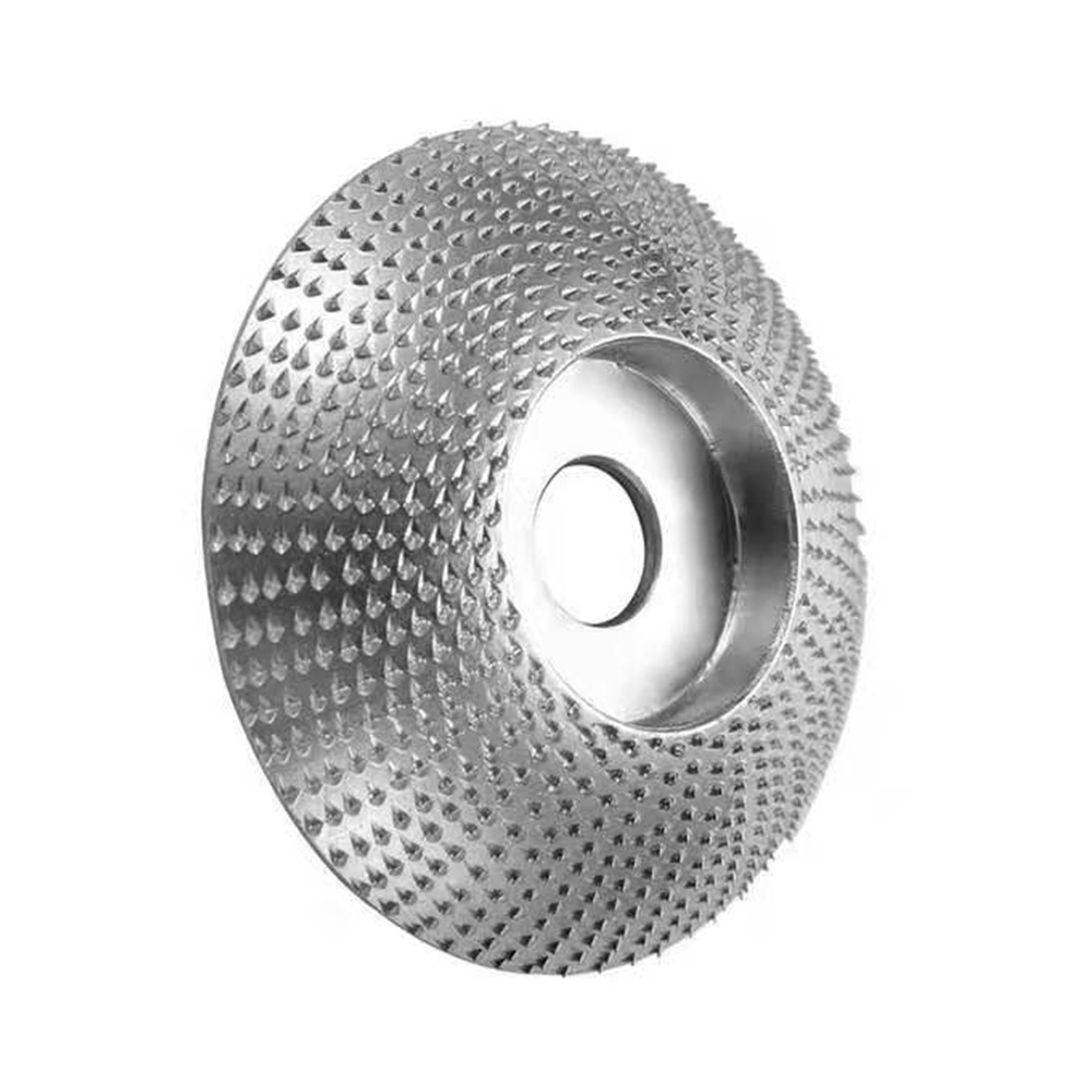 3.3 inch / 85mm Wood Grinding Wheel Tungsten Carbide Sanding Carving Tool Rotary Abrasive Disc for Angle Grinder