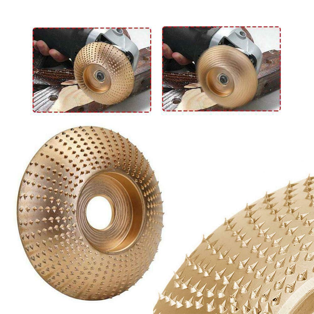 7.5mm Wood Grinding Wheel Angle Grinder Disc Wood Carving Sanding Abrasive Tool