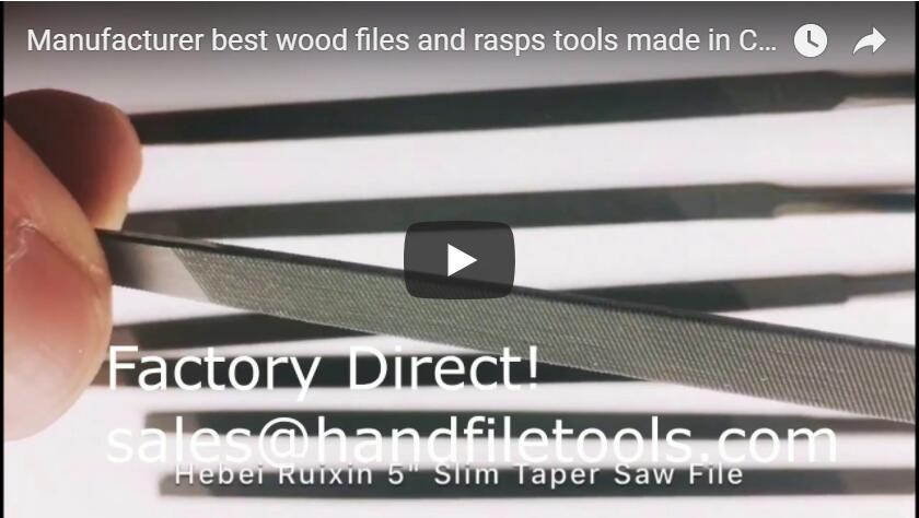 Manufacturer best wood files and rasps tools made in China