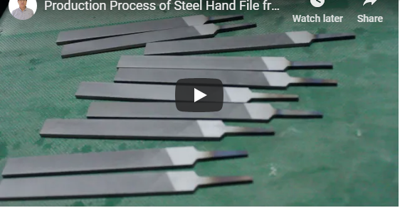 Production Process of Steel Hand File