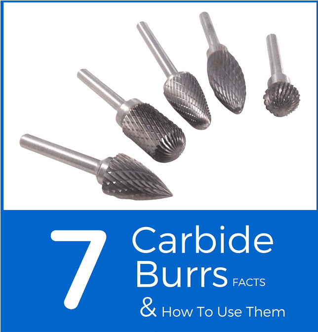 Tungsten Carbide Burrs and How To Use Them