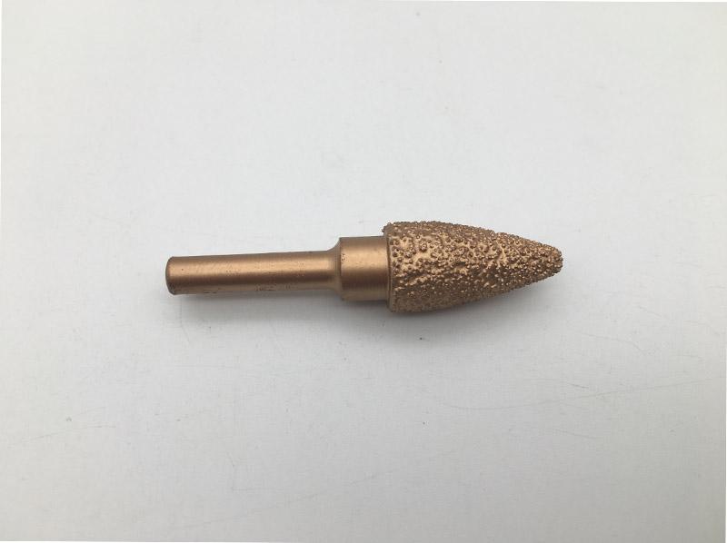 6mm brazed head diamond grinding bits