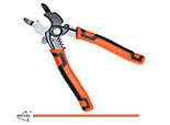 High Quality 8 inch Wire Stripper and Wire Cutters Cable Cutter Multinational Hand Tool