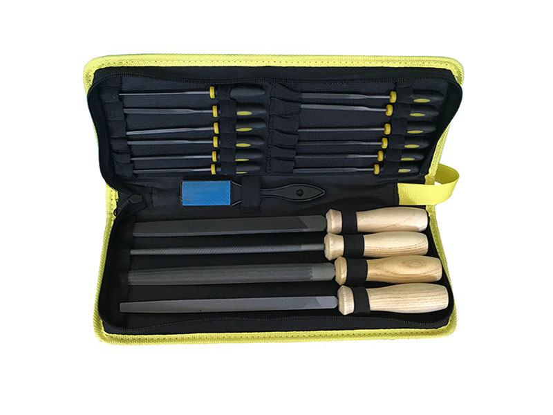 16Pcs Metal-Steel File Set Shaping Files for Woodworking