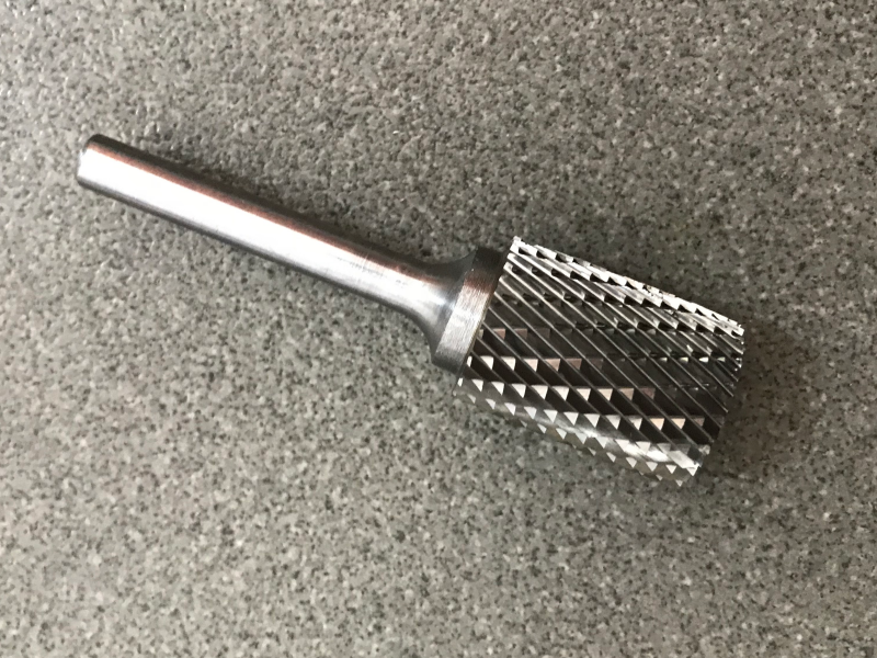 Quality products china Cylinderical tungsten carbide burr for Auto repair tool parts